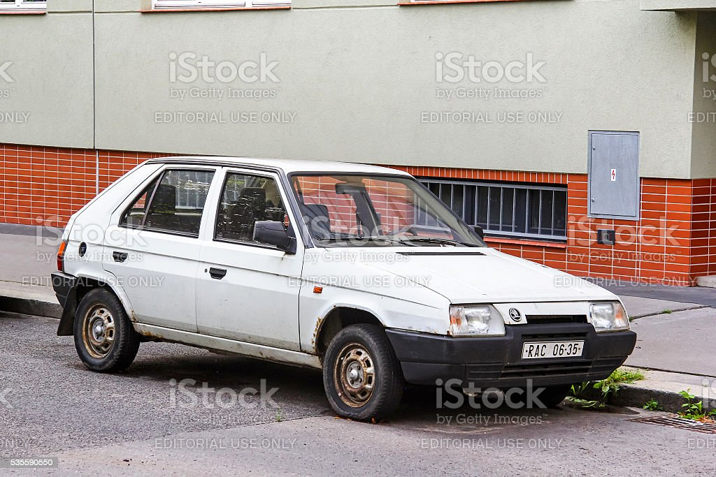 Skoda Favorit stock photo