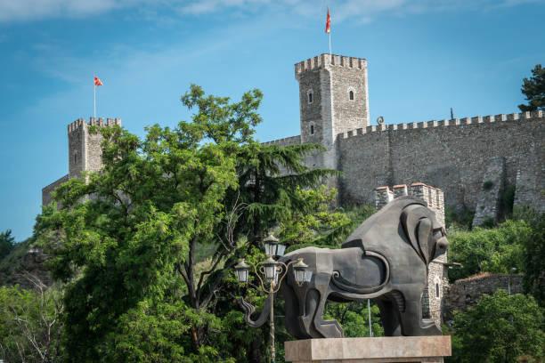 Skopje, Republic of Macedonia - 10.21.2018 : Kale Fortress stock photo