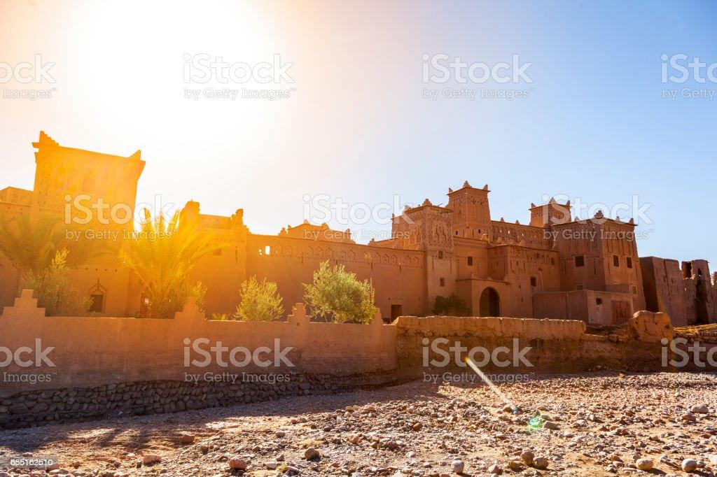 Skoura town, Morocco stock photo