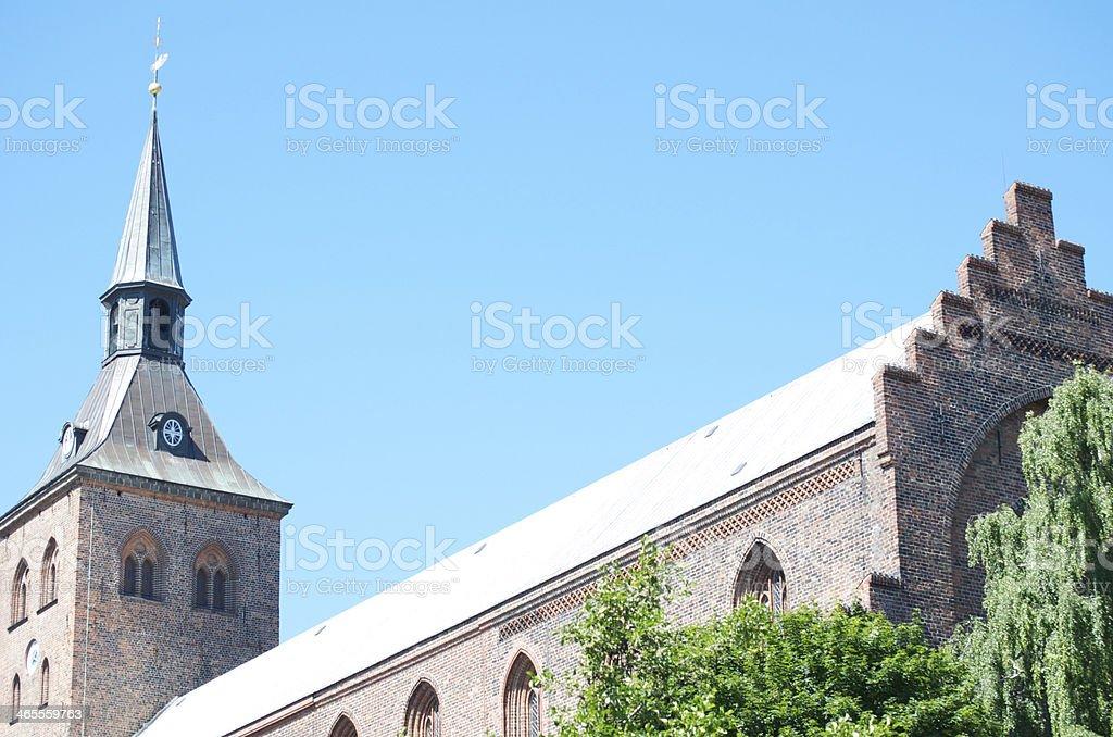 Skt Kund's Church stock photo