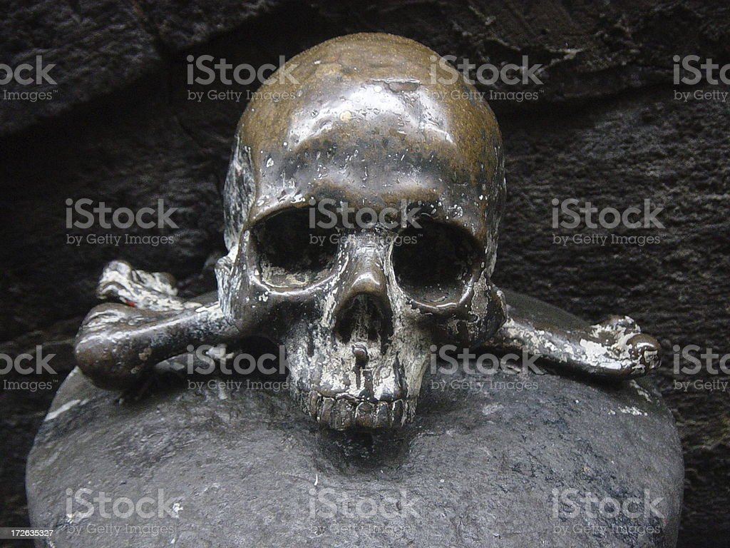 Skull and Bones royalty-free stock photo