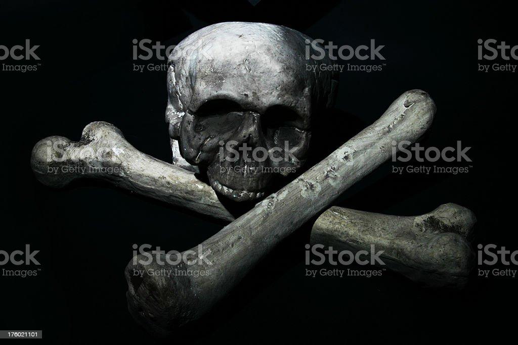Skull & Cross Bones royalty-free stock photo