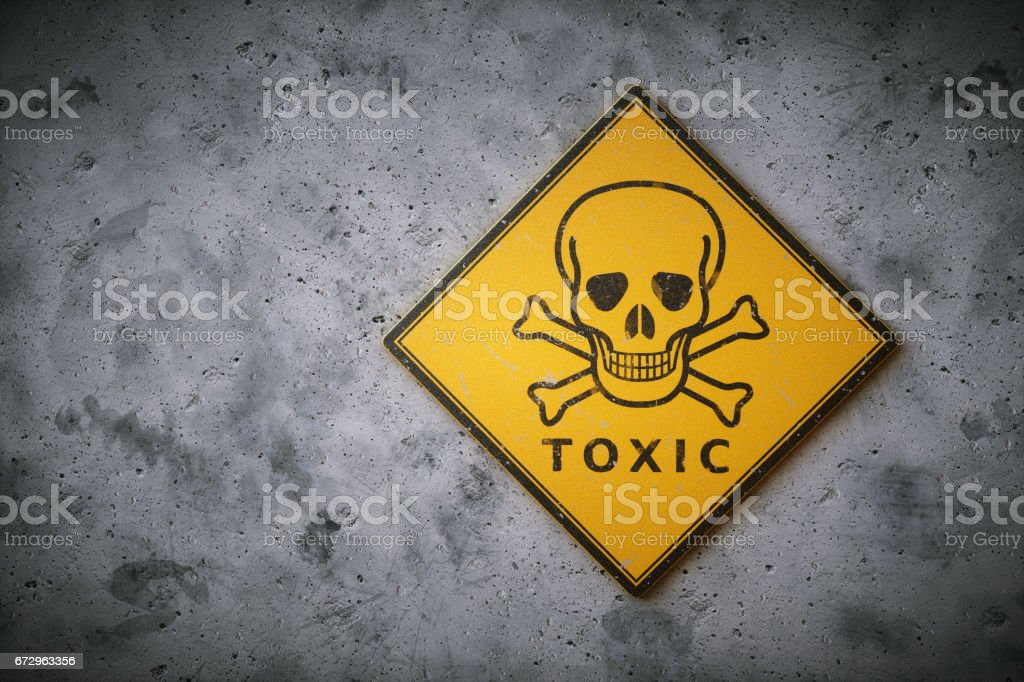 Skull & Crossbones Sign - foto de stock