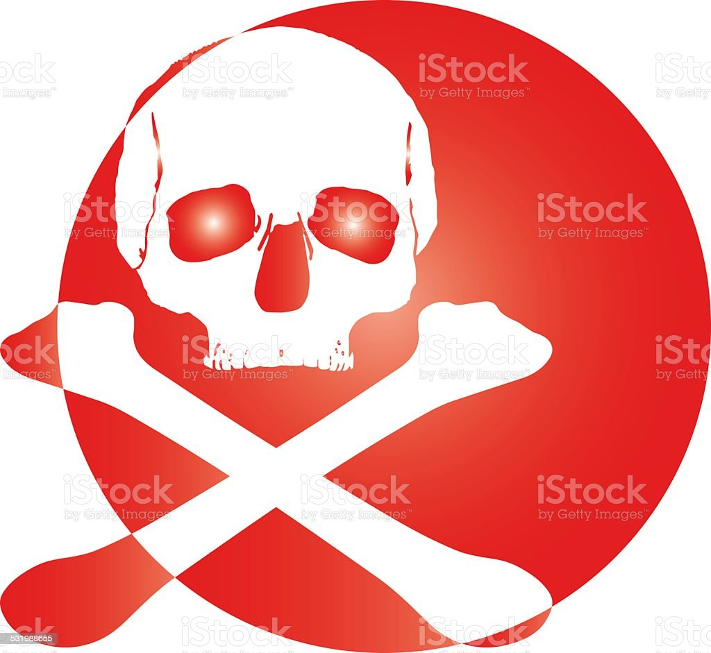 skull logo icon royalty-free stock photo