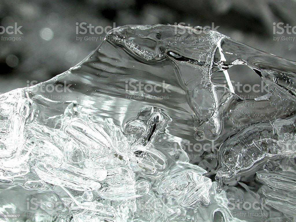 Skull of Ice royalty-free stock photo