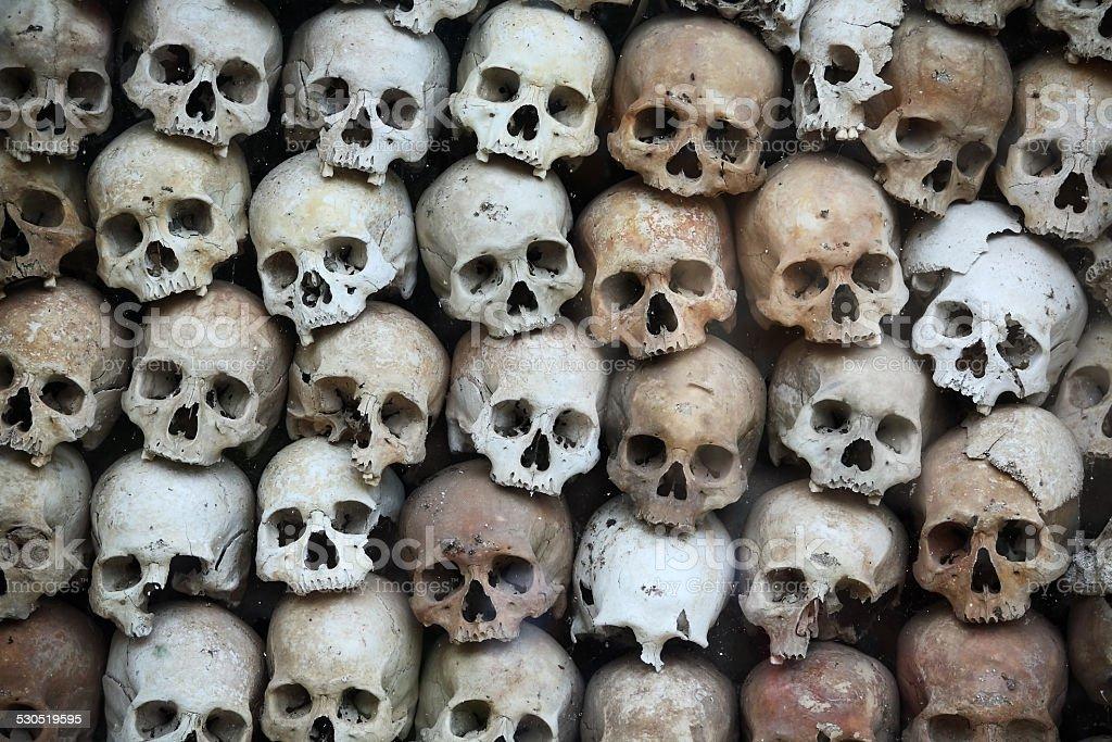 skull pattern. stock photo