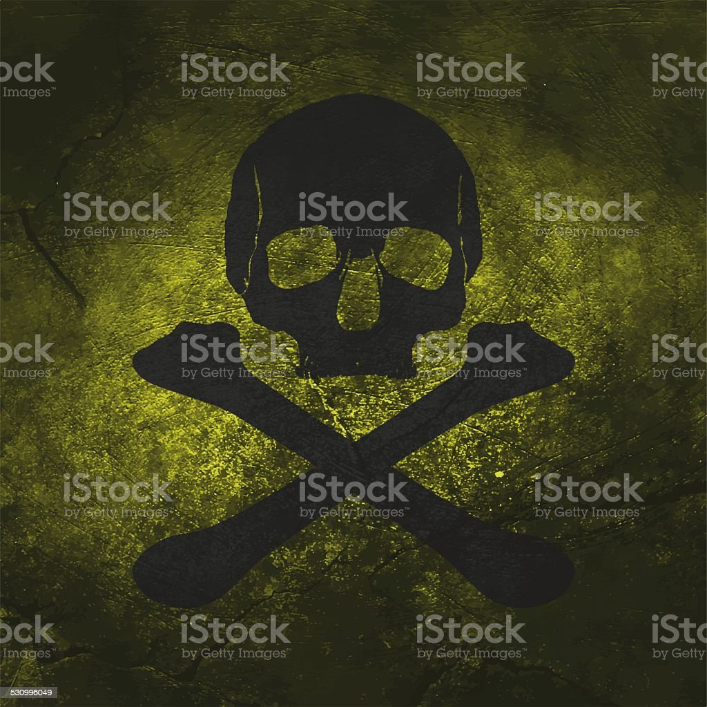 skull pirate pattern stock photo