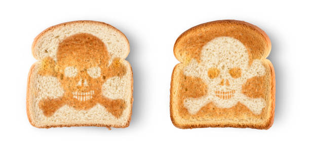 Schädel-toast – Foto
