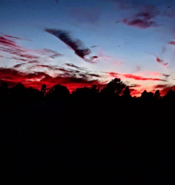 Sky ablaze This sky was on fire ablaze stock pictures, royalty-free photos & images