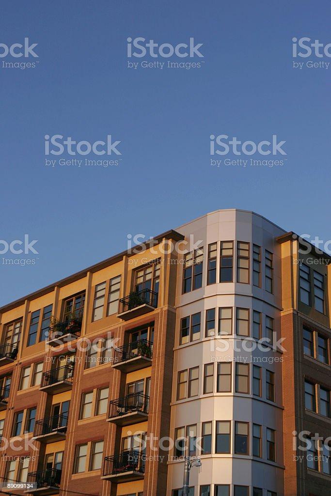 sky und Gebäude Lizenzfreies stock-foto