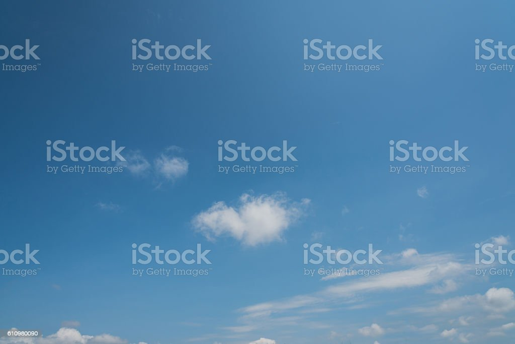 Sky and Cloud Background stock photo