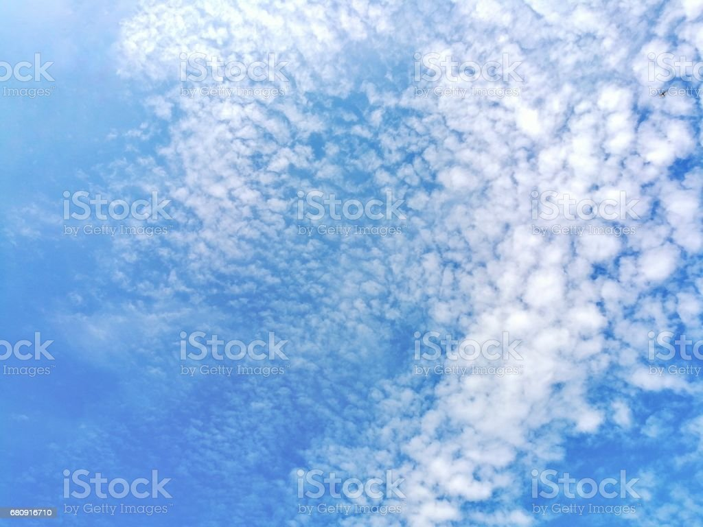 Sky and cloud background royalty-free stock photo