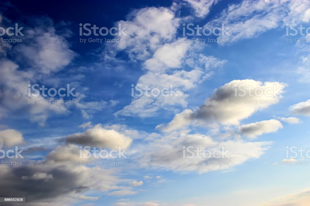 sky and clouds background foto stock royalty-free