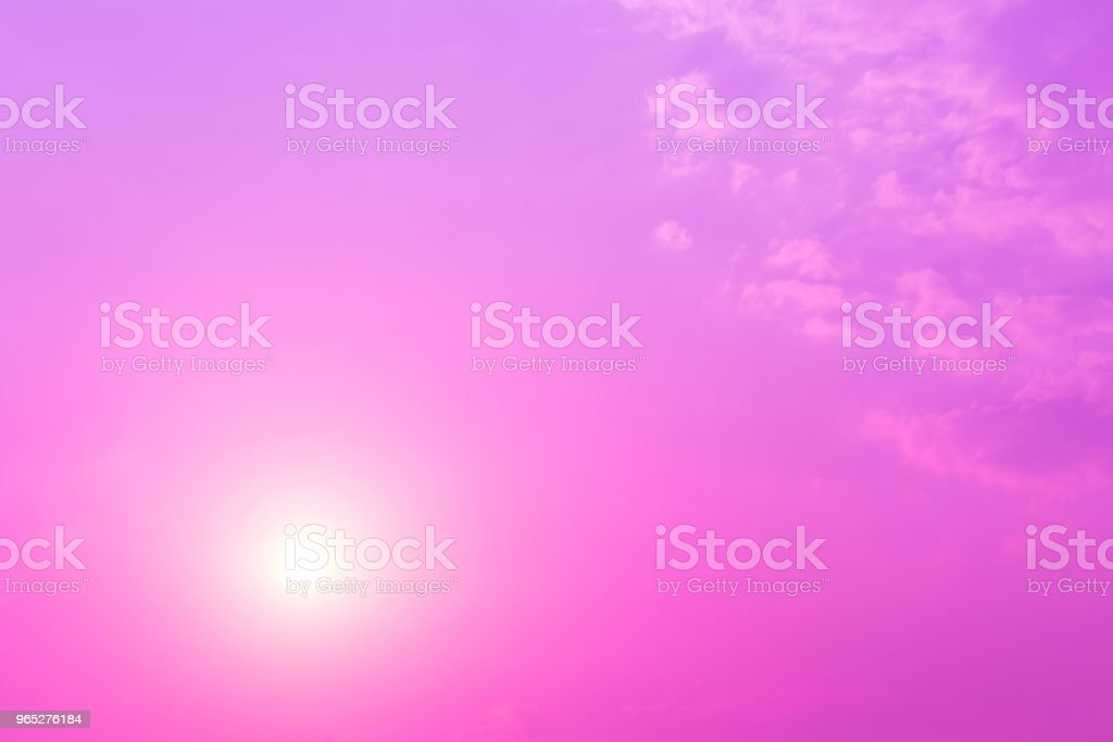 sky and clouds nature background royalty-free stock photo