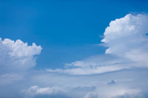 空と雲。 ストックフォト