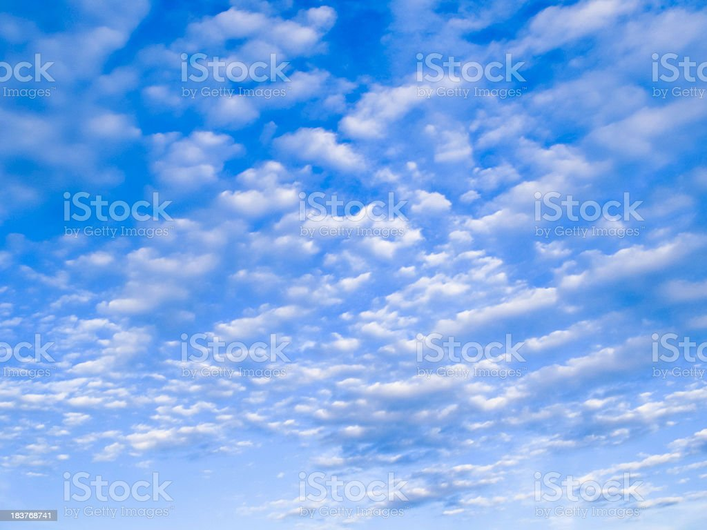 Sky and clouds. Series royalty-free stock photo