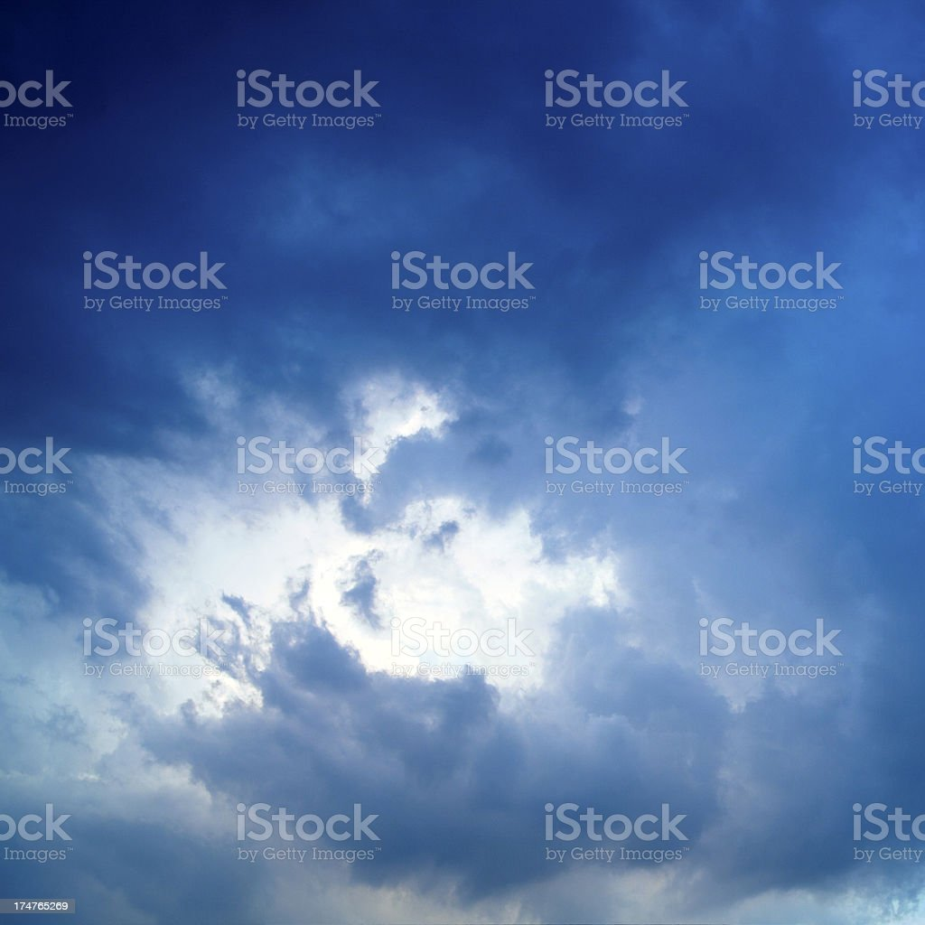 Sky and clounds royalty-free stock photo