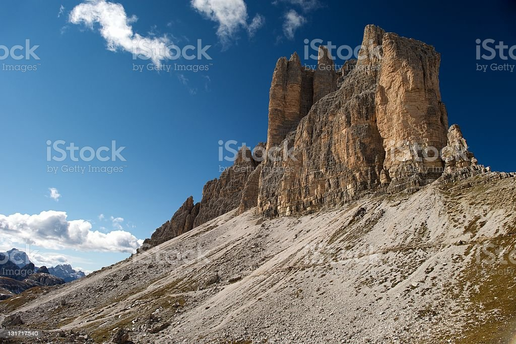 Sky and Mountain royalty-free stock photo