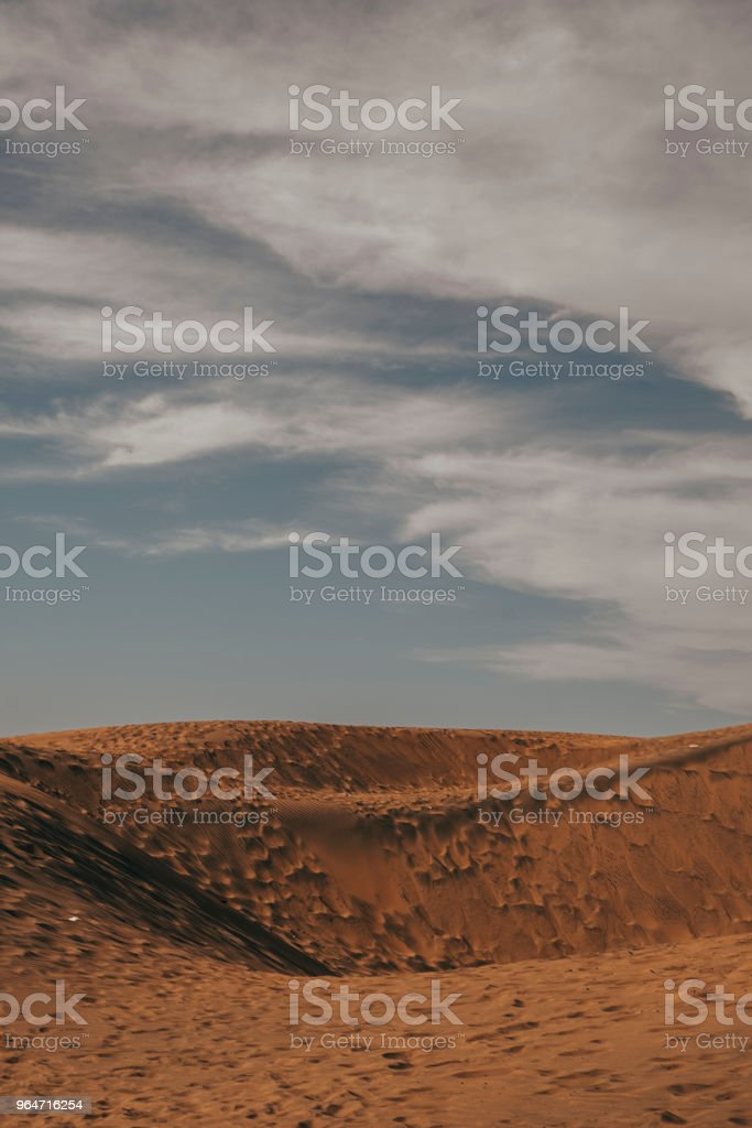 sky and sand royalty-free stock photo