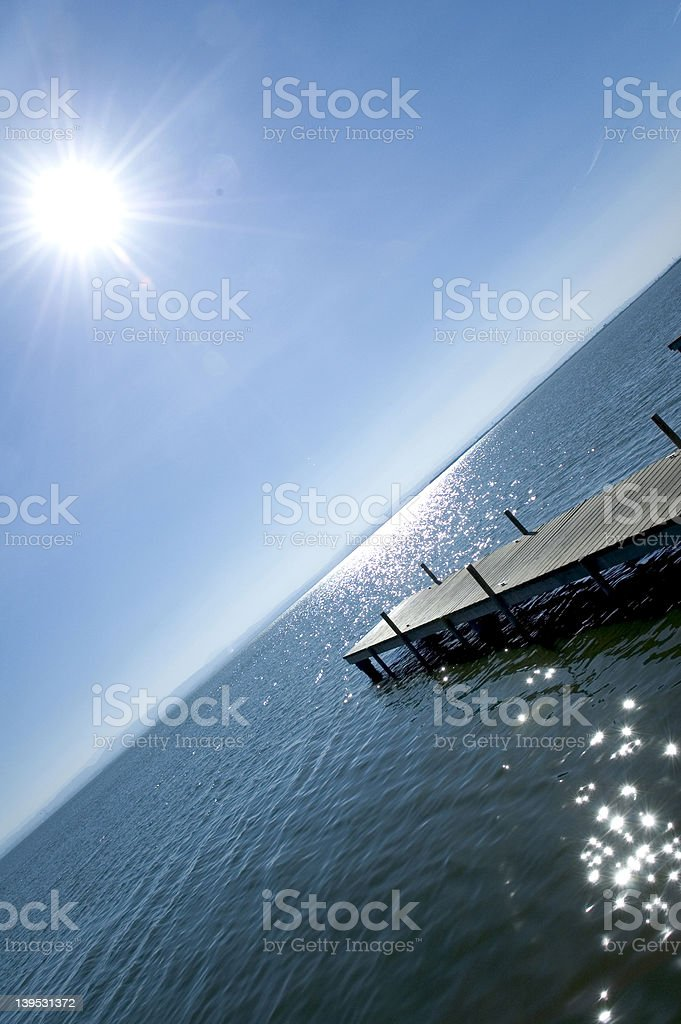 Sky and Sea Marine royalty-free stock photo