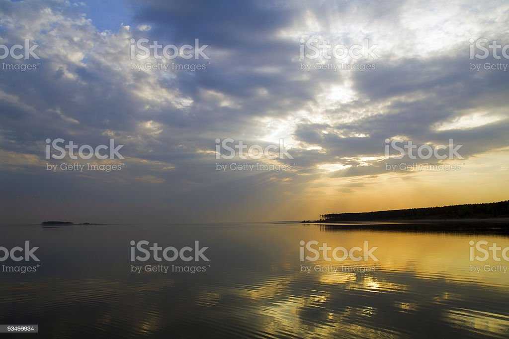 sky and sea royalty-free stock photo
