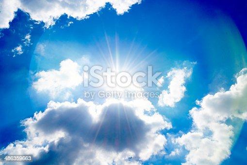 istock Sky and sun 486359663
