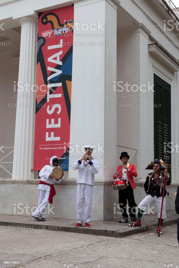 Ciel arte Festival napoli - Photo de Adulation libre de droits