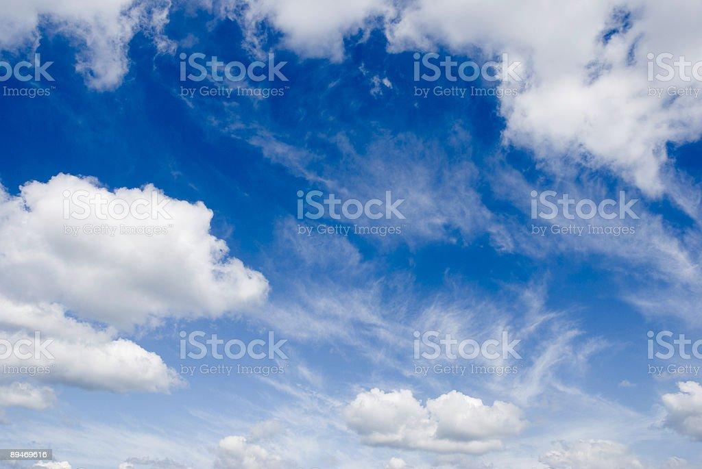 Himmel Hintergrund Lizenzfreies stock-foto