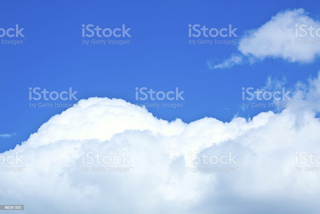 Sky background. royalty-free stock photo