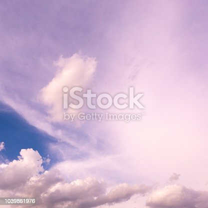 917116520 istock photo sky background with blue white cloud light bright clean clear 1039861976