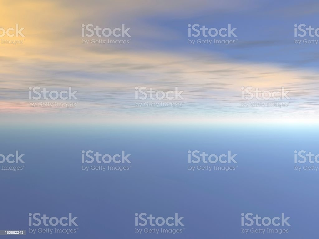 sky blue1 abstract royalty-free stock photo