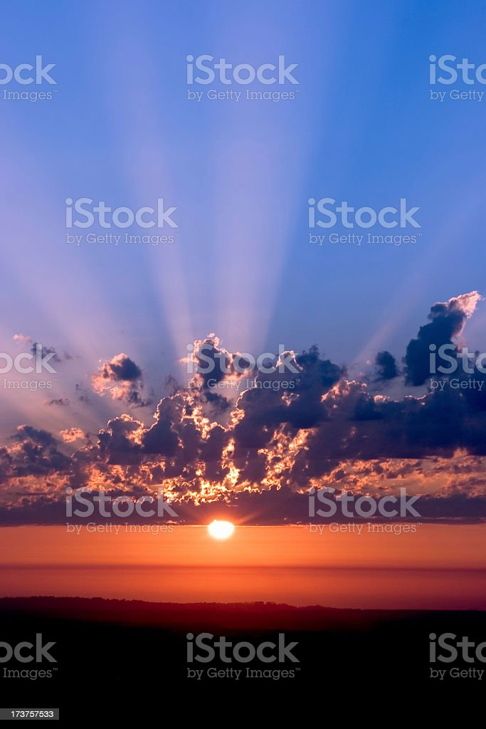 Sky Bright royalty-free stock photo