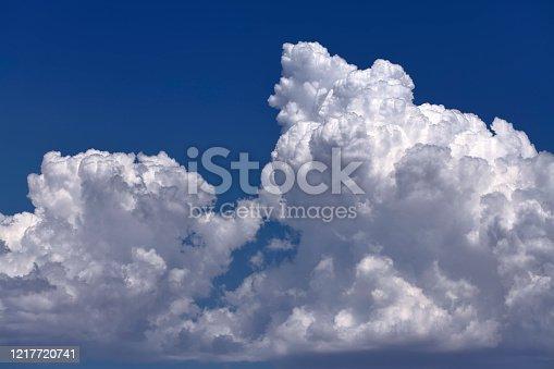 Billowing Cumulonimbus Cloud
