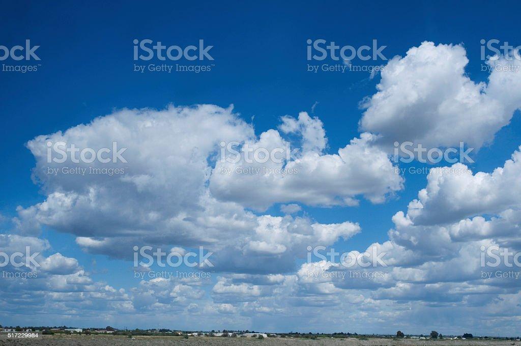 sky cloud frame stock photo