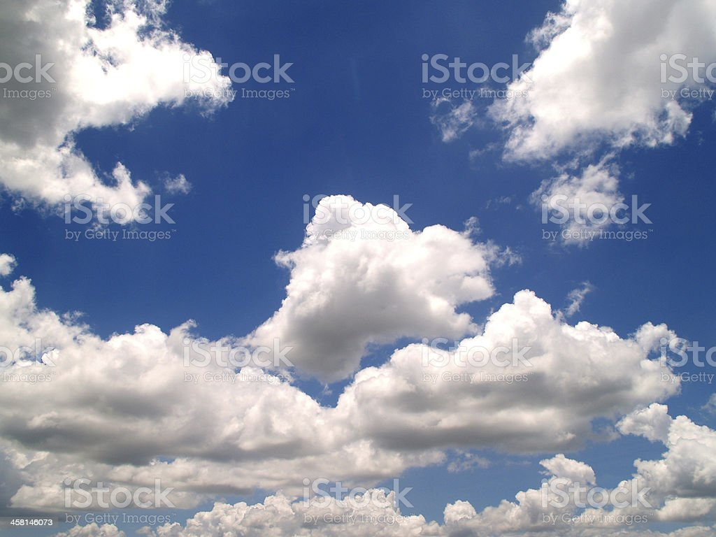 Sky Clouds Background stock photo
