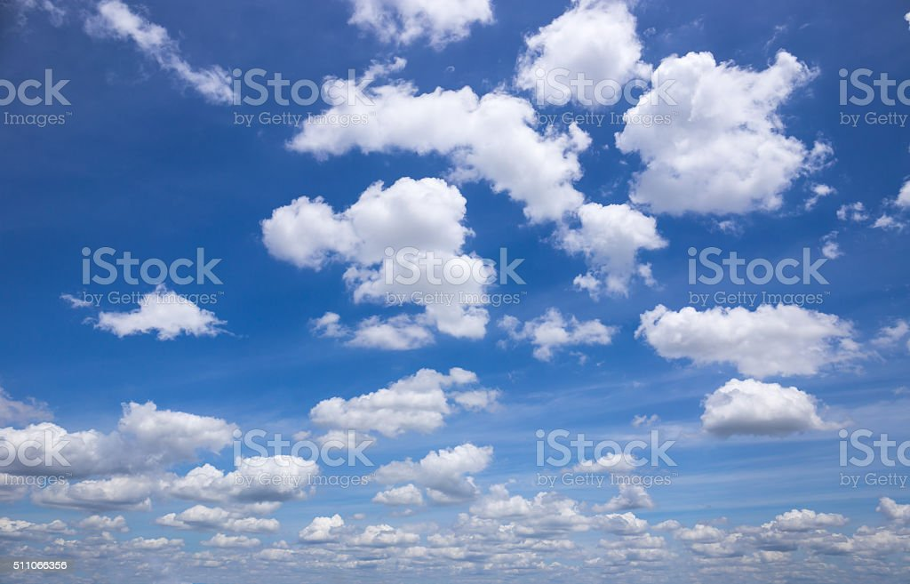 sky clouds stock photo