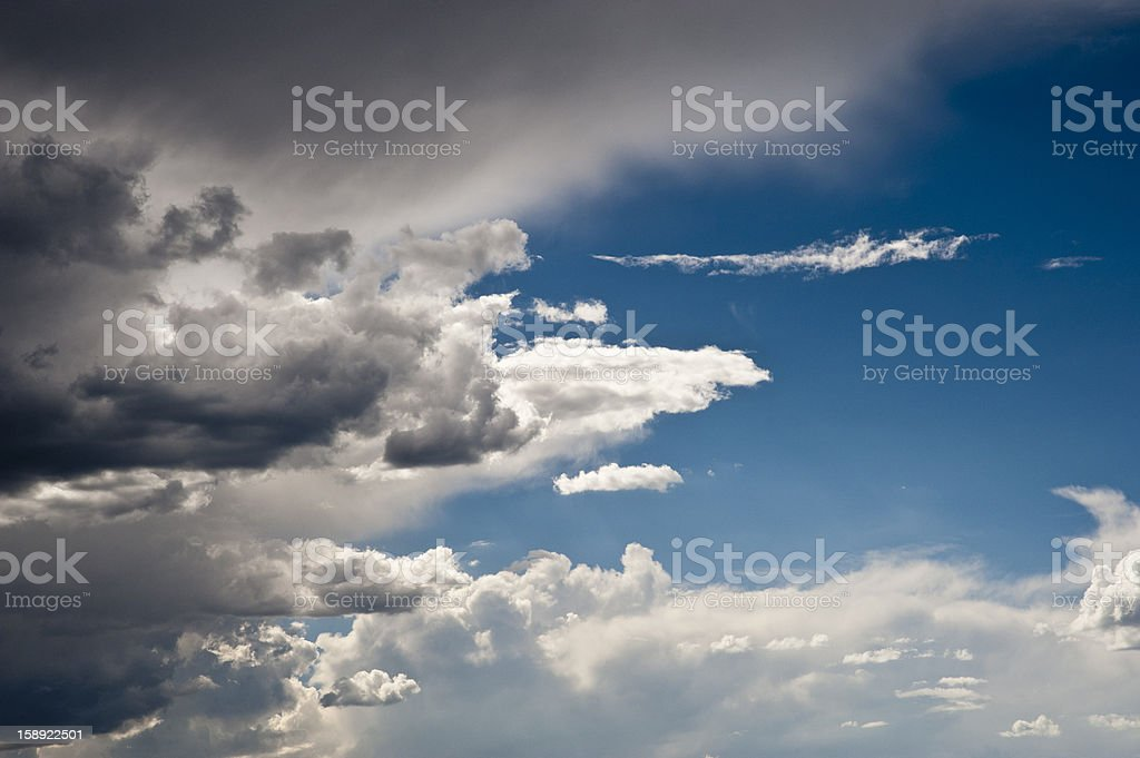 sky Cloudscape royalty-free stock photo