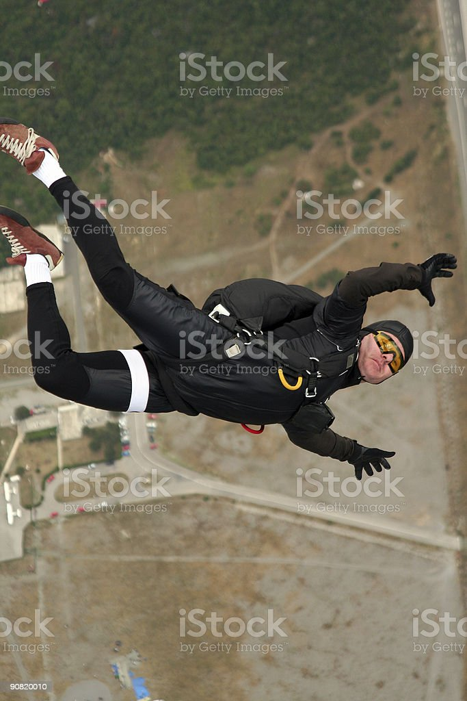 sky diver royalty-free stock photo