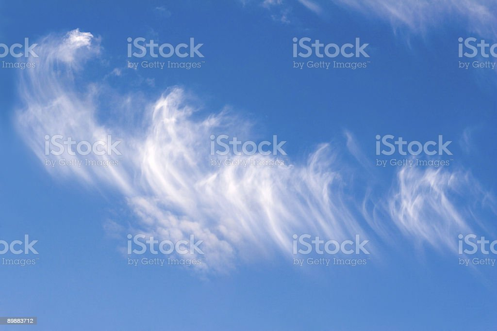 Sky feathers5 royalty-free stock photo
