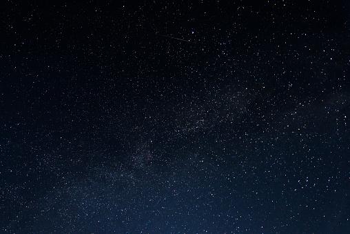 Sky full of stars on a summer night