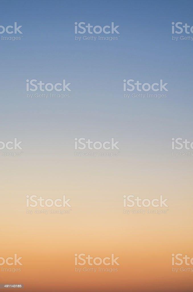 Sky gradient stock photo
