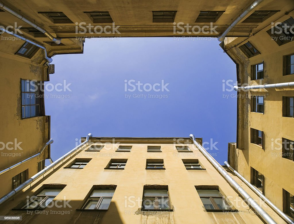 Sky in court royalty-free stock photo