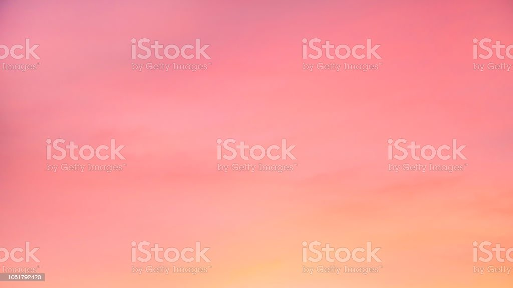 Sky in the pink and blue colors. effect of light pastel colored of...