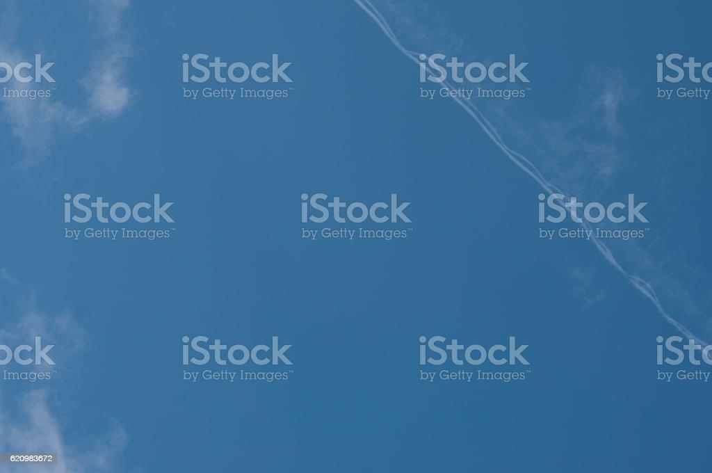 sky is blue stock photo