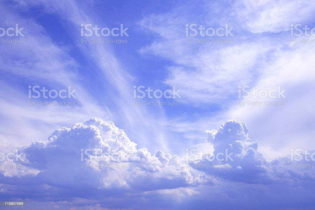 Sky is the limit stock photo