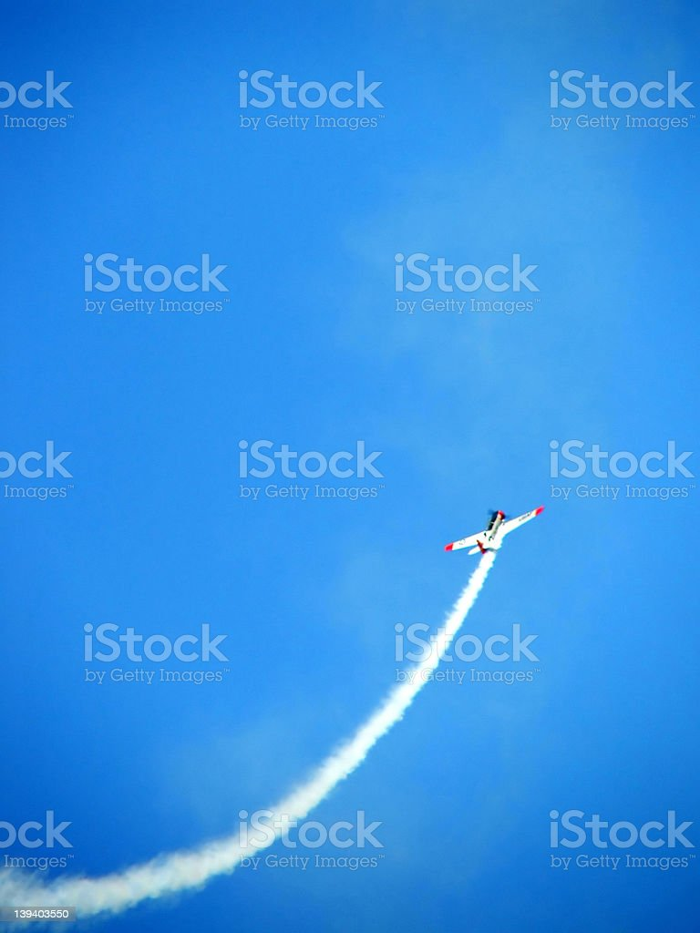 Sky - Jet Stream royalty-free stock photo