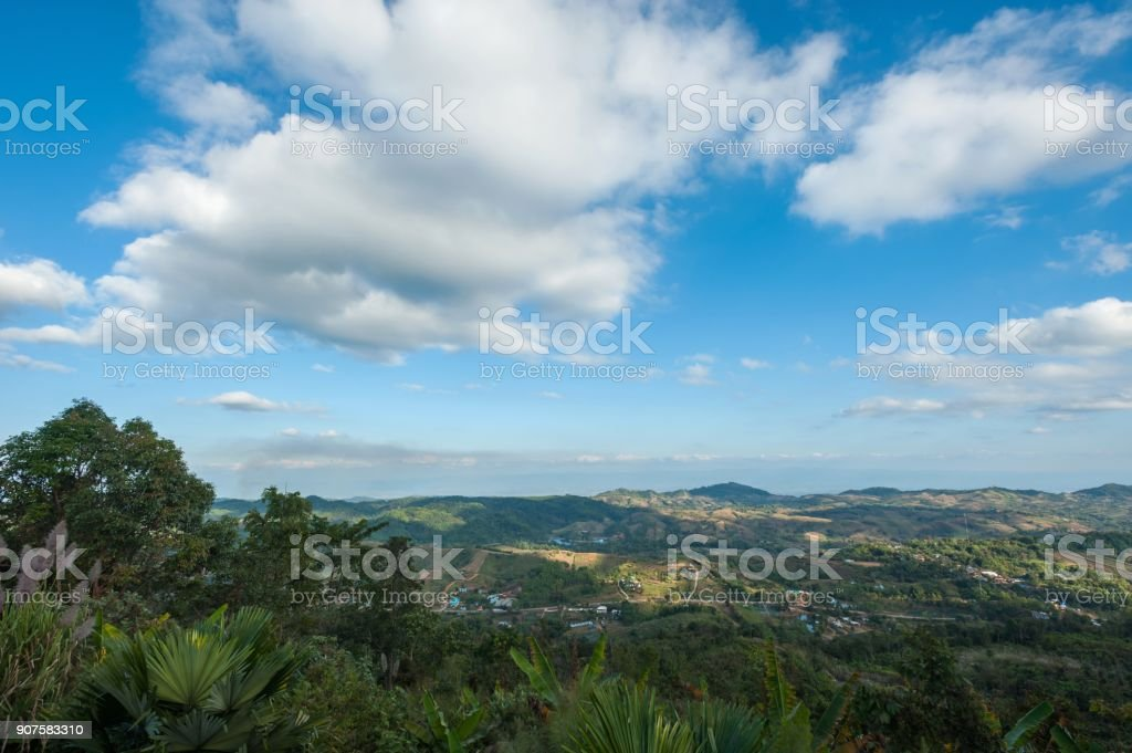 Sky  Landscape mountain stock photo