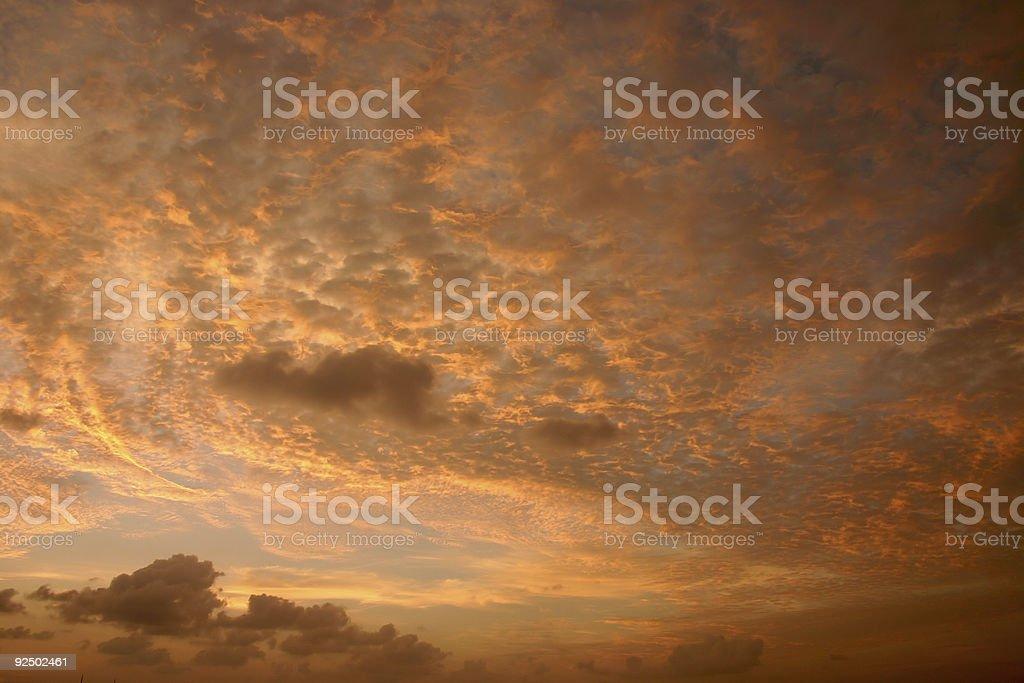 sky maldives royalty-free stock photo