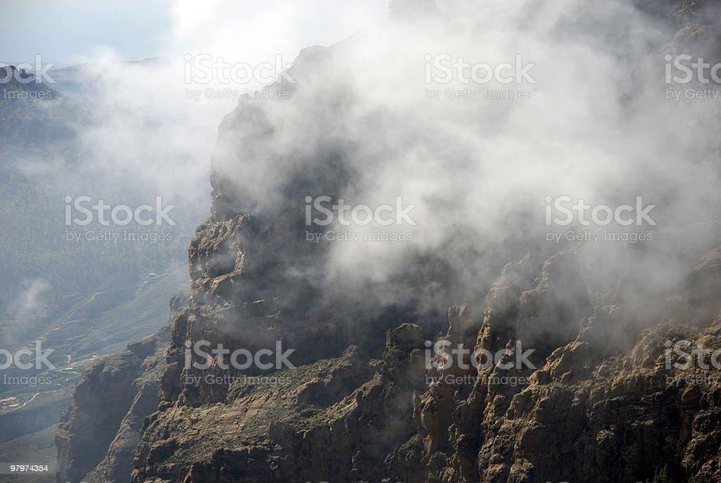 Sky mountain royalty-free stock photo
