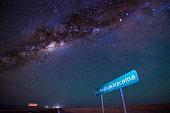 Sky Night in San Pedro de Atacama, go to san Pedro de Atacama and Milky Way.